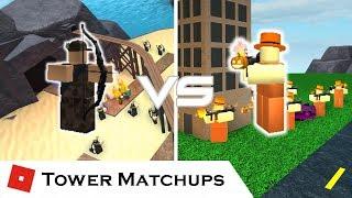 Fiery Impact | Tower Matchups | Tower Battles [ROBLOX]