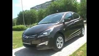 Hyundai Solaris рестайлинг 2014 смотреть