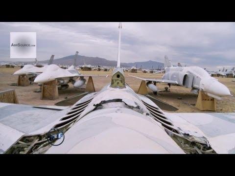 The World's Largest Airplane Graveyard - USAF Davis-Monthan AMARC