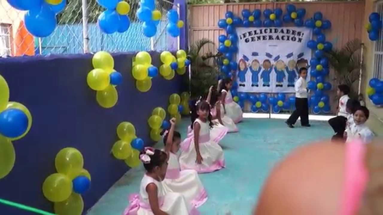 Jackeline Carnalla Ceremonia De Graduacion Preescolar 2015 Hd 1080p