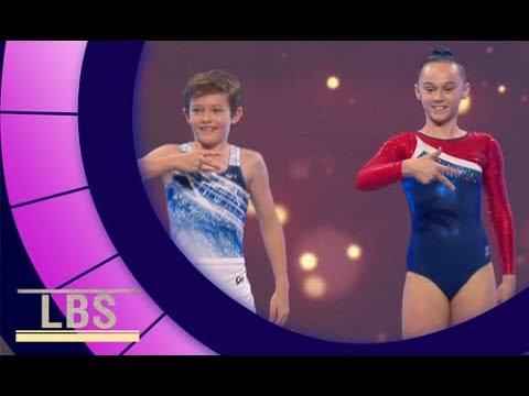 Meet Synchronised Trampolining champions Joel & Kayla | Little Big Shots Aus Season 2 Episode 3