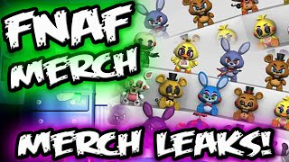 FNAF MERCH LEAKED! | *NEW* Five Nights at Freddy's Merch from FUNKO