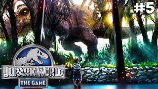 Jurassic World. Прохождение #5 (Gameplay iOS/Android)