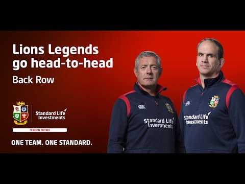 Who makes the Squad? British & Irish Lions legends pick their Back Row