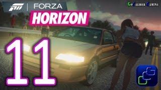 Forza Horizon Walkthrough - Part 11 - Street Race: Outta Town,  Desert Drag