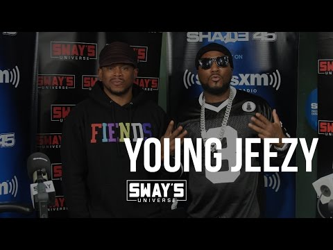 Jeezy Interview on Sway in The Morning: Explains What It Means to Trap