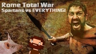 Rome Total War: 300 Spartans vs EVERYTHING