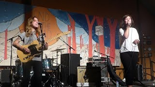 Julien Baker & Lucy Dacus (Boygenius) - Stay Down @ End of the Road 2018