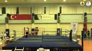 2019 Büyükler İstanbul Boks Şampiyonası / Oğuzhan Karakurt / Mavi köşe / 81 kg / Nakavt / GADA SK