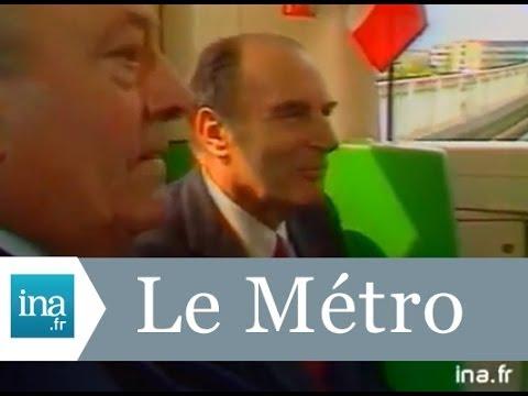 François Mitterrand inaugure le métro Quatre Cantons à Lille - Archive INAde YouTube · Durée:  1 minutes 34 secondes