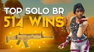 TOP SOLO BR-11 KILLS-514 WINS-(Fortnite Battle Royale free) [EN-BR]-Softe