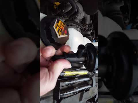 2000 Excursion Leaking Heater Control Valve Youtube