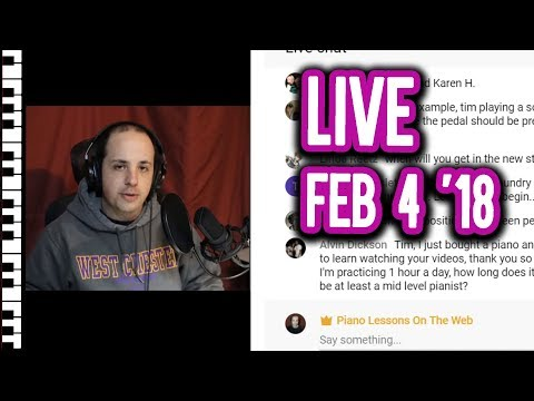 What Lessons Would You Like to See?  Full Live Stream February 4  2018
