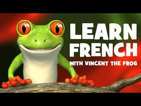 French lesson with a frog # The verb S'appeler # To call oneself