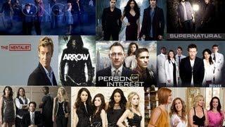 Топ 10 любимых сериалов на английском языке на 2012 год