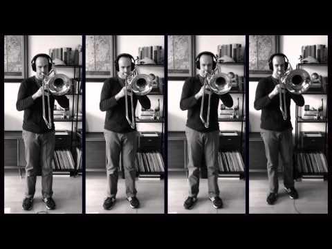 John Williams - Theme from Schindler's List, Arranged for Trombone Quartet