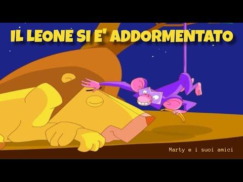 Il leone si e addormentato canzoni per bambini youtube