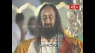 Ravi Shankar Guruji | Maha Shivaratri Maha Rudrabhishekam | Bhakthi Tv_Part 1