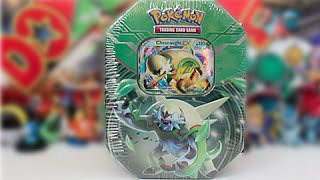 Opening A 2014 Pokemon Kalos Power Chesnaught EX Tin!!