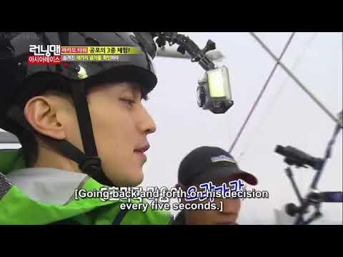 Running Man Lee Dong Wook BUNGEE JUMPING EP. 133