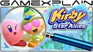 Kirby: Star Allies ANALYSIS - Nintendo Direct Mini Gameplay (Secrets & Hidden Details)