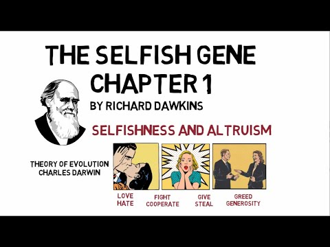 THE SELFISH GENE By Richard Dawkins - Chapter 1: Why Are People? | Animated Summary