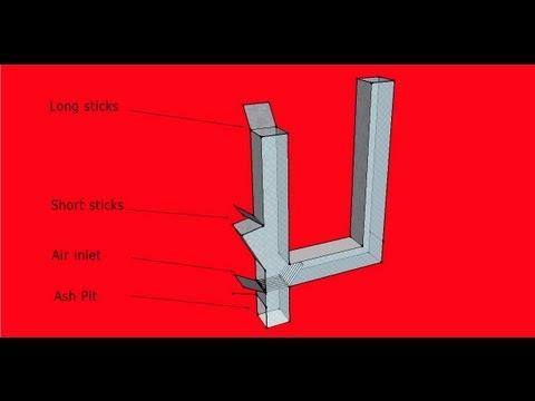 Rocket Stove Design Idea Dual Feed Rocket Stove For Long