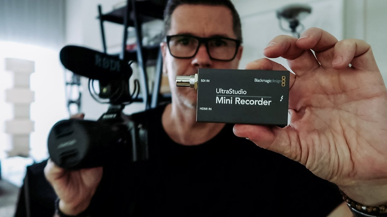 Blackmagic Ultrastudio Mini Recorder Perfect Youtube Streaming Tool Youtube