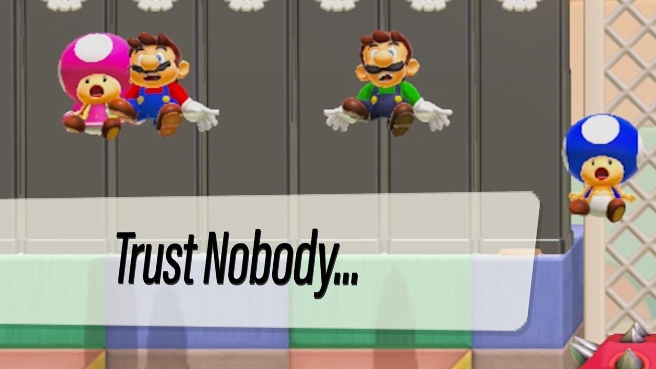 Mario Maker Online Gone Wrong