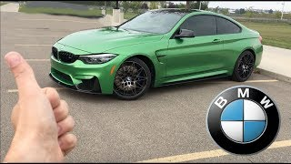 5 Reasons To Love The BMW M4 Competition