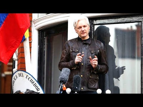 Julian Assange Marks 5.5 Years Inside Ecuadorean Embassy as UK & US Refuse to Confirm Arrest Warrant