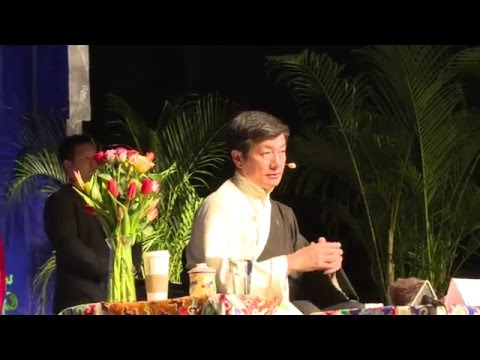 Sikyong Dr Lobsang Sangay Answering Public Questions in Zurich,Feb 21, 2016 part 2