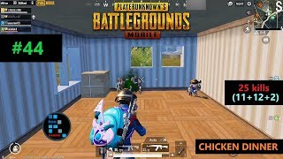 PUBG MOBILE25 KILLSAMAZING PRIMORSK FIGHTCHICKEN DINNER