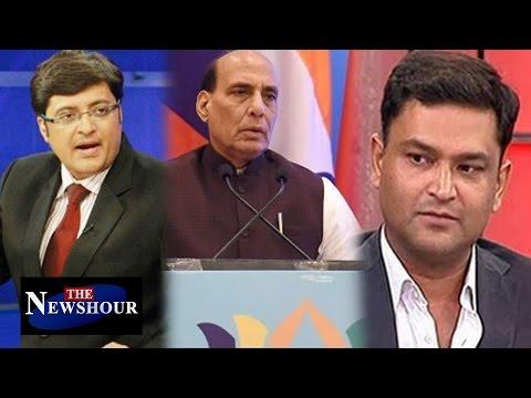 Why Did Pakistan CENSOR Rajnath Singh's Speech?: The Newshour Debate (4th Aug 2016)