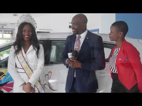 2019 Antigua Barbuda Queen Of Carnival Gets Vehicle