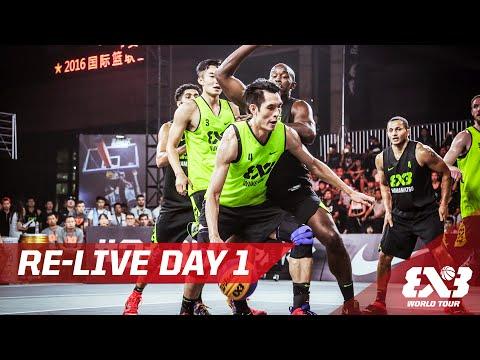 Re-Live - Day 1 - Beijing - 2016 FIBA 3x3 World Tour