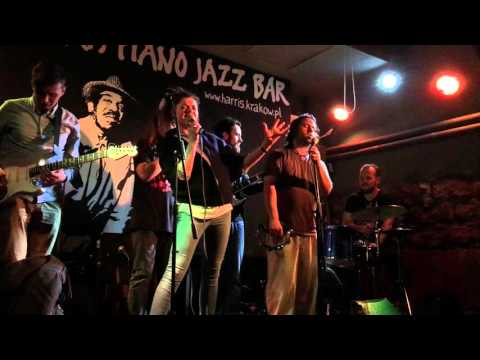 Harris Piano Jazz Bar Krakow Poland, 6th April 2016. Blues Jam