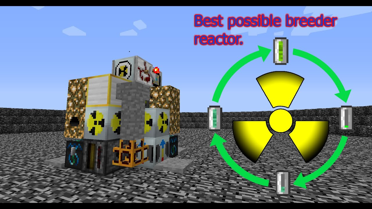 Tekkit Classic Best Breeder Reactor Youtube