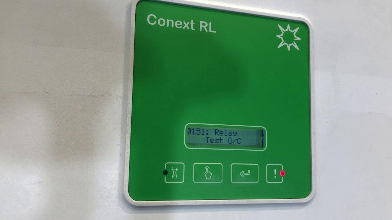 Conext RL Solar Inverter 0151: Relay Test O/C Error Message