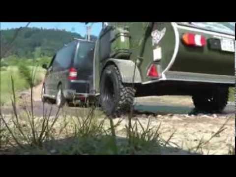 abridoo mini caravane tout terrain off road caravan teardrop 4x4 youtube. Black Bedroom Furniture Sets. Home Design Ideas