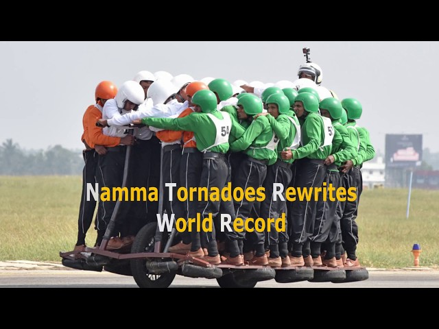 Namma Tornadoes Rewrites World Record