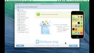 [iPhone 5C Data Recovery: Mac] Retrieve iPhone 5C WhatsApp Conversation from iTunes Backup on Mac