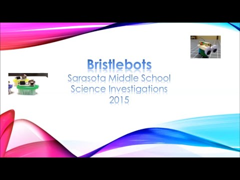 """Bristlebots"" classroom grant in action at Sarasota Middle School!"