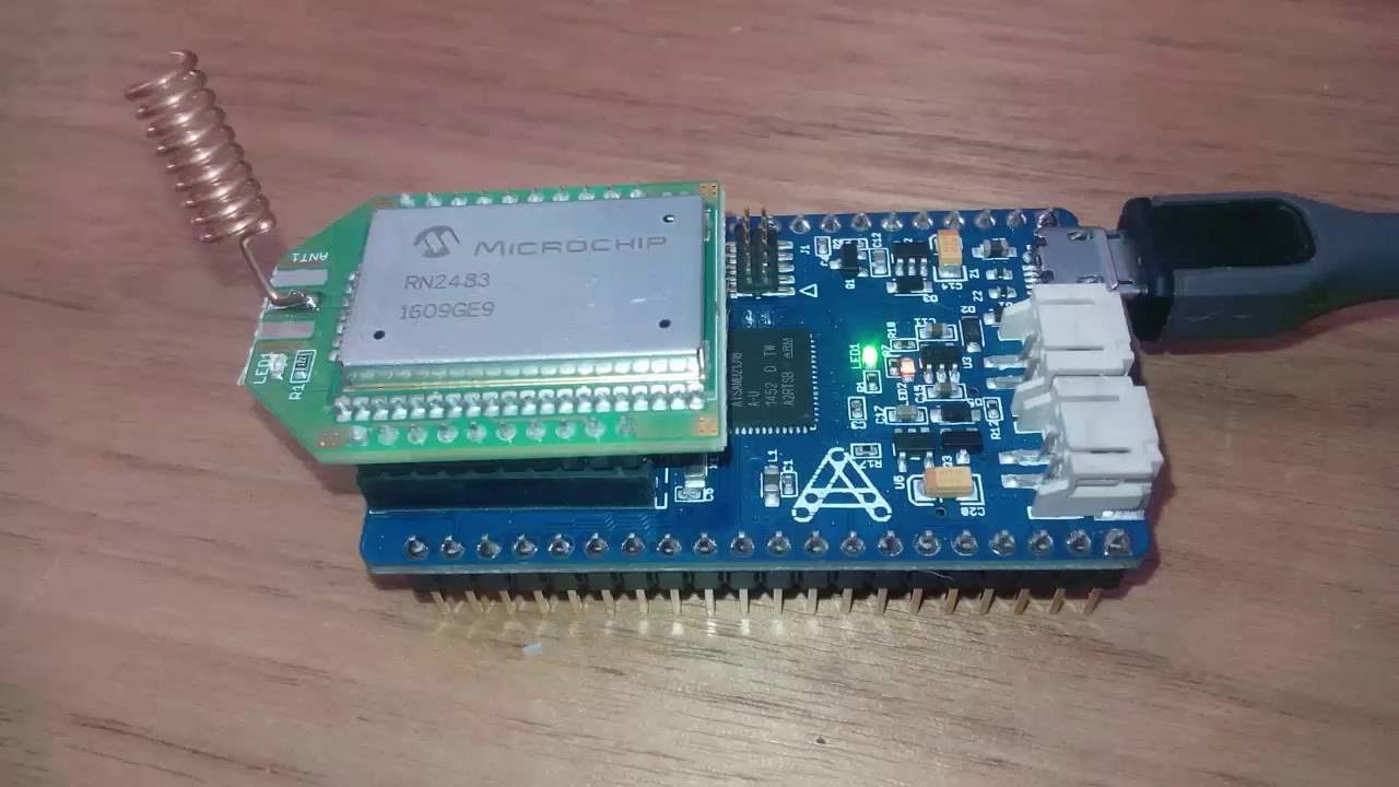 LORA SODAQ setup in Arduino IDE