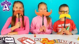 Челлендж усы Игра поймай усы Видео челлендж Для Детей. Друзяки Moustache smash game Video for Kids