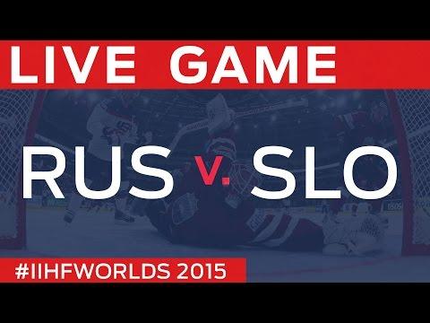 Russia Vs Slovenia | Game 12 | #IIHFWorlds 2015
