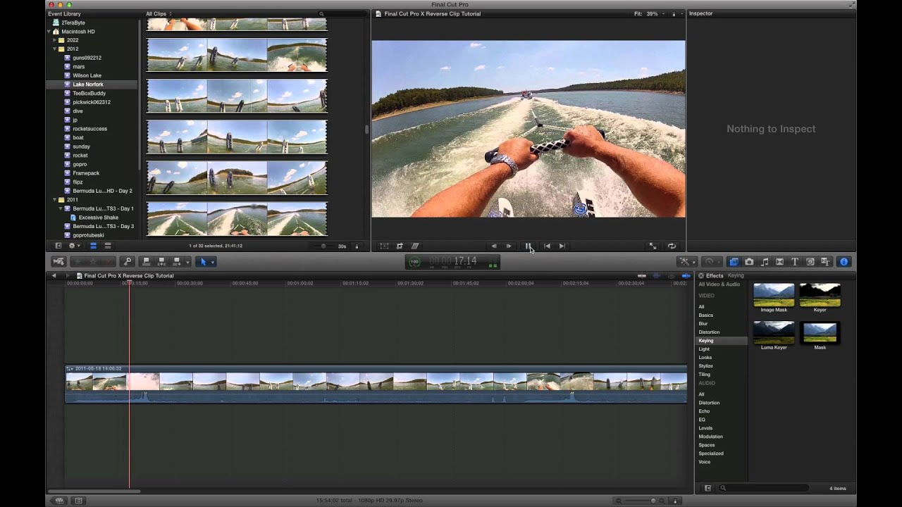 how to use chroma key in final cut pro x