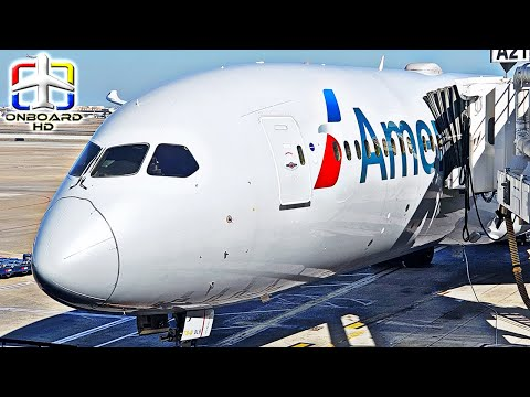 TRIP REPORT | AMERICAN AIRLINES: Let's Cross the Atlantic! ツ | Dallas to Madrid | Boeing 787