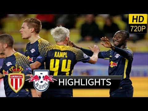 AS Monaco vs RB Leipzig 1-4 - extended Highlights & All Goals (UEFA) 21/11/ 2017 HD