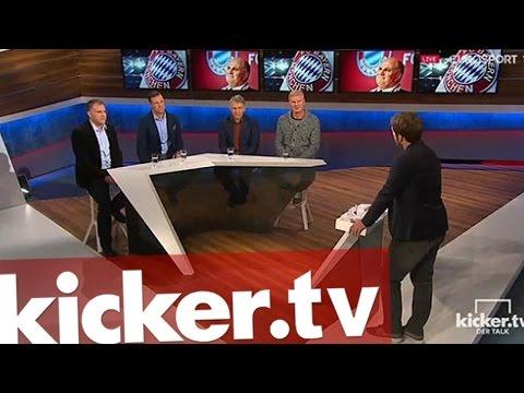 Brennpunkt Bayern: Hoeneß, Lahm, Ancelotti - kicker.tv - Der Talk - Folge 26 - #kickertalk